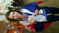 Barbora Mišendová /DUBB/ - juniorská majsterka Európy na 50M 2014