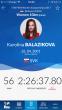 Karolína Balážiková na MS v diaľkovom plávaní 2017 v disciplíne 10km