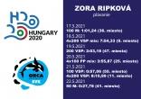 ME Budapest / Zora Ripková / výsledky