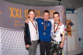 200m polohové preteky žiaci 9-10 rokov