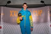 Najlepší bodový výkon v kategórii K2 muži - Serhii Lysobei (UKR), 50m znak, 677 bodov